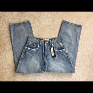 NWT Basic Code men's blue jeans 36 x 32